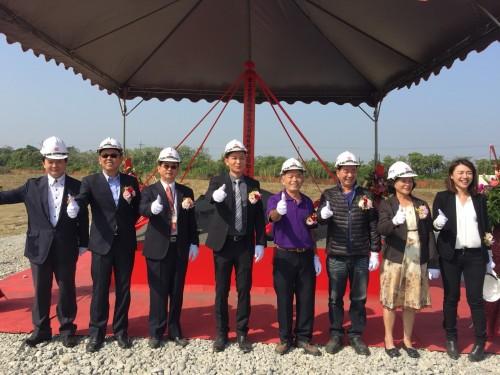 Babygee's new plant in SIN-JI Industrial Park is coming soon...
